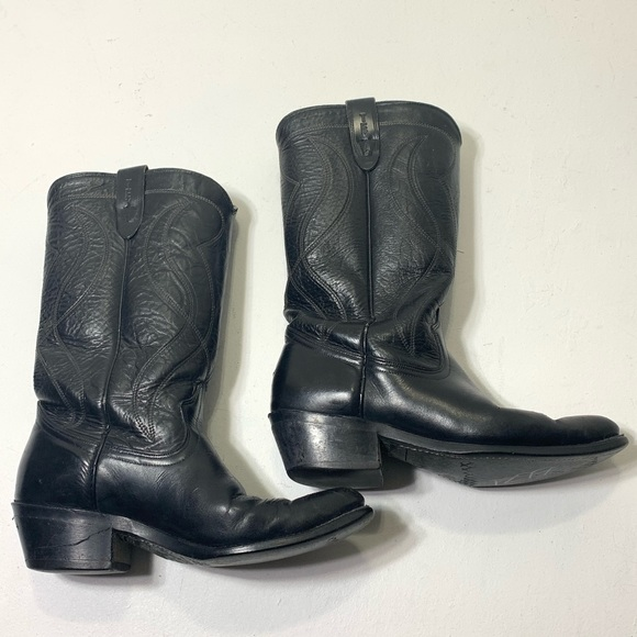 texas Other - Men's Size 8.5 Texas Vulcan Leather Cowboy Boots